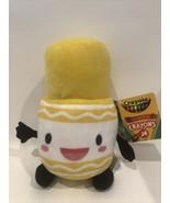 "Crayola Yellow Crayon Crayons Plush Toy 9.5"" New A8E - $13.95"