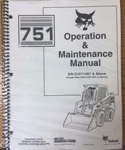 Bobcat 751 Skid Steer Operation & Maintenance Manual Operator/Owner's 2 #6900417 - $25.00