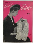 Lacey Crochet Pickups Book No. 195 The Spool Cotton Company - $3.75