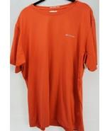 Columbia Large Orange Omni Freeze Zero Sweat Activated Cooling Technical... - $31.00