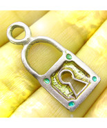 FREE W $100 BEST OFFER HAUNTED LOCK NECKLACE PROTECT WEALTH MONEY MAGICK... - $0.00