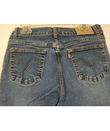 Levis 517 Stretch Flare Women's Jeans Size 12 1/2 Pus  Medium Wash 28 x 25 - $21.10