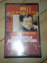 NEW SEALED  CASSETTE TAPE ELVIS COSTELLO AND THE ATTRACTIONS PUNCH THE C... - $5.29