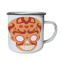 Sugar Skull 02 Retro,Tin, Enamel 10oz Mug n992e - $246,74 MXN
