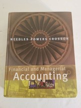 Financial and Managerial Accounting 8th Edition Needles Powers Crosson H... - $28.04
