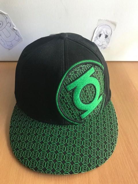 Green Lantern: Emblem Mini Logo Mesh Cap Brand NEW!