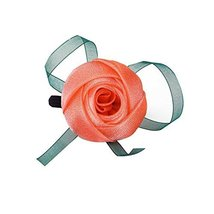Set of 2 Stylish Rose Pattern Hair Accessories Ponytail Holders Hair Elastics image 1