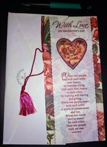 "New greeting card With love on Valentine's Day ""When two people find eac... - $5.00"