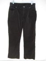 Chico's Women's Velvet Jeans Pants 1 Short or Misses 8 Black - $25.24