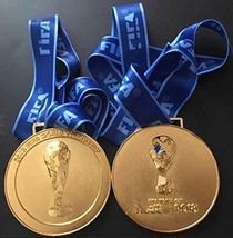 2018 FIFA World Cup Russia Gold Medal Replica - Shipped from USA - $58.41