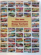 2002 USPS Commemorative Yearbook Stamp Packet - $40.00