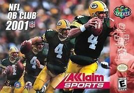 NFL QB Club 2001 (Nintendo 64, 2000) - $2.73