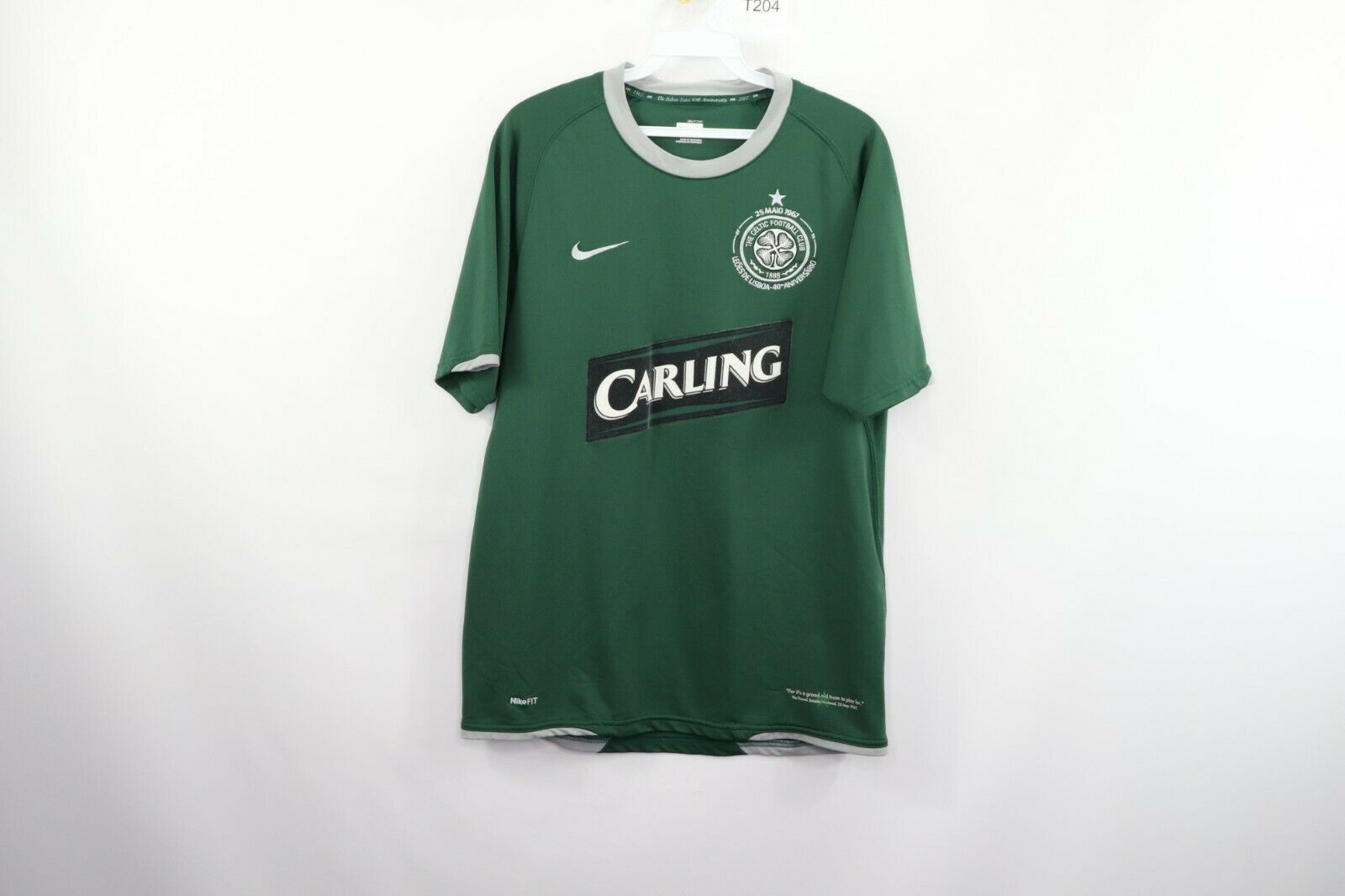 huge selection of 42aae 50e86 Nike Mens Small 40th Anniversary 2007 Celtic and 48 similar ...