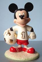Lenox Disney Soccer Star Mickey Mouse Figurine New - $44.90