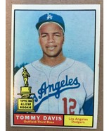 1961 Topps #168 Tommy Davis Baseball Card EX+ Condition Los Angeles Dodgers - $4.99
