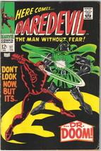 Daredevil Comic Book #37, Marvel Comics 1968 FINE+ - $22.18