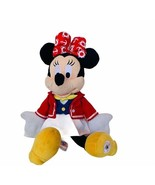 "Minnie Mouse plush stuffed animal Walt Disney 12"" cruise line toy collec... - $24.14"