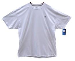 Champion Men's Authentic Short Sleeve T Shirt Big Size 2XL NEW - $11.87