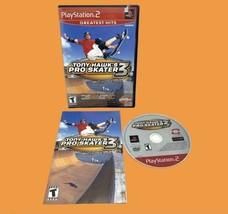 Tony Hawk's Pro Skater 3 PS2 (Sony Playstation 2) Greatest Hits Complete +Manual - $14.80