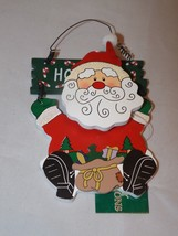 "Commodore Wooden Ornament - Santa Claus ""Ho! Ho! Ho!"" - $6.64"