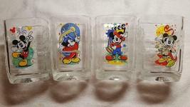 Disney World Mickey Mouse Glasses Millennium 2000 Complete Set 4 McDonalds NEW! - $12.00