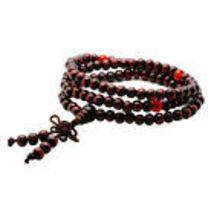 Tibetan Sandalwood Prayer Beads image 1