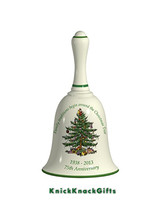 SPODE CHRISTMAS TREE 75th ANNIVERSARY BELL - $20.00