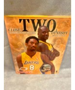 The Lakers Hard Cover Book Close Two a Dynasty Kobe Bryant and Shaquille... - $9.85
