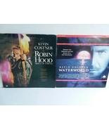 ROBIN HOOD AND WATERWORLD LETTERBOX LASERDISKS - FREE SHIPPING - $18.70