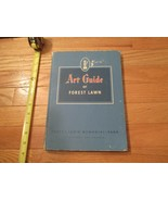 Art guide of Forest Lawn Memorial Park Glendale California CA HC Book - $14.99