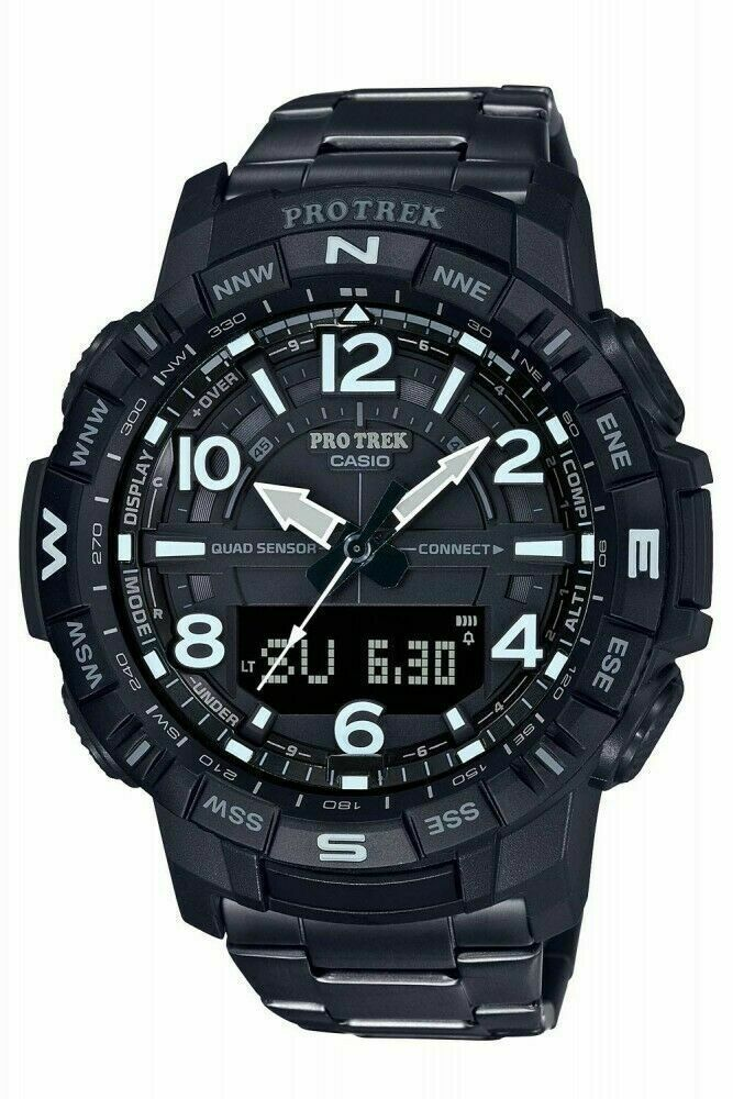 "Casio Men's PRO TREKBLE QUAD SENSOR 'LIMITED"" Watch PRTB50YT-1"