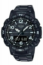 "Casio Men's PRO TREKBLE QUAD SENSOR 'LIMITED"" Watch PRTB50YT-1 image 1"