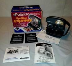 Vintage POLAROID One Step Express 600 Instant Film Camera w/ Flash, Green - $24.99