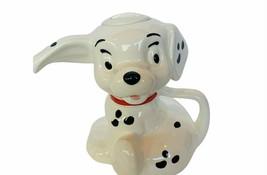 Walt Disney Teapot 101 Dalmatians Lucky Pongo Cruella Tea Pot Creamer vtg puppy - $173.25