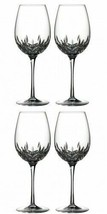 Waterford Lismore Essence Goblet 4 Goblets Glasses New # 143781 - $297.00