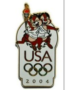 Chip & Dale  Authentic Disney USA Olympic Logo Pin - $14.88