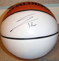 Evan Turner Signed White Panel Basketball Portland Trail Blazers EXACT PIC PROOF - $29.65