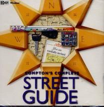 compton's complete street guide cd rom software - $19.99