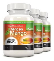 Africa's Finest Pure African Mango 18,000mg 180 Capsules - $90.99