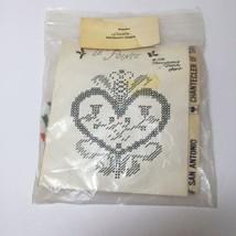 Pennsylvania Dutch Heart Needlepoint Kit Le Pointe  - $9.74