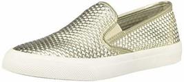 Sperry Women's Seaside Emboss Sneaker, Platinum, 9.5 M US - $47.27 CAD