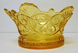Fostoria Navarre (line # 2751) large bowl – Crown Collection - Gold - $90.00