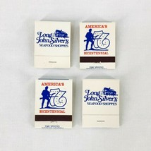 Vintage 1976 Long John Silvers Seafood Shoppes Bicentennial Matches Matc... - $9.47