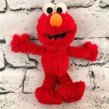 Sesame Street Elmo Plush Red Shaggy Monster Muppet Soft Stuffed Animal Toy - $7.91