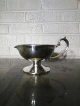 Vintage KS Co. Electro Plate Nickel Silver Polished Ornate Handle Gravy ... - $9.99