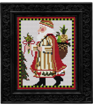 Swedish Santa Santa Christmas cross stitch kit Colonial Needle  - $27.00