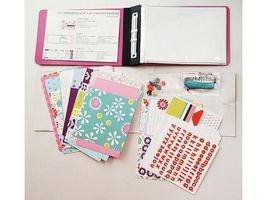 "S.E.I. Scrapbook in a Bag, Ally's Wonderland, 4"" x 6"" Memory Book Kit image 4"