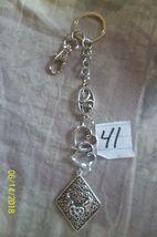 # purse jewelry silver color beauty keychain backpack filigree dangle charm #41 image 4