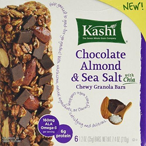 Kashi Chocolate Almond & Sea Salt With Chia, 7.4oz Box (Pack of 2)