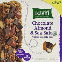 Kashi Chocolate Almond & Sea Salt With Chia, 7.4oz Box (Pack of 2) - $19.50